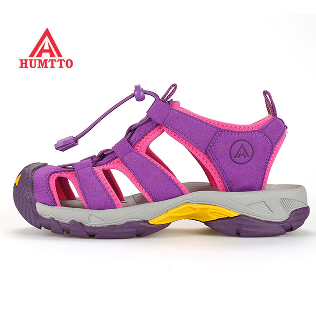 HUMTTO Women's Summer Outdoor Hiking Trekking Sandals Shoes Sneakers For Women Wading breathable trekking women Sandals Shoes
