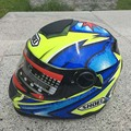 Motocross SHOEI 322 Full Face motorcycle off road helmet dual visor motor knight riding dirt bike helmets size M L XL XX