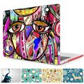 """Unique Doodle Owl 3D Print Case for Macbook Pro 15 A1707 Cover Crystal Clear Laptop Case for Mac book Pro 13"""" A1706/A1708 Cover"""