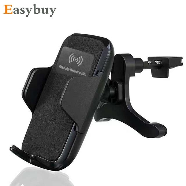 3 suporte do telefone carregador de carro sem fio qi almofada de carregamento sem fio da bobina para samsung s6 s7 borda mais nota 5 lumia 950 xl nexus 5x lg g5