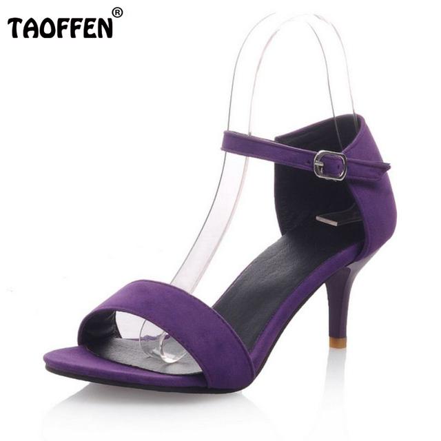 Mulheres Sapatos De Salto Alto Sandálias T-Clássico Palco Dançando Sandálias Sexy Stiletto sapatos de Salto Alto Festa de Casamento Shoes Calçado Tamanho 34-42 PA00439