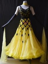 KAKA DANCE B1441,2015 Tarian Bahu Standard Baru Tarian / Pakai, Pakaian Pertandingan Waltz, Wanita, Pakaian Tarian Tarian, Pakaian Wanita