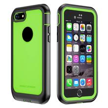 Купить с кэшбэком ImpactStrong Ultra Protective Case with Built-in Clear Screen Protector Full Body Cover for iPhone 7 case  and iPhone 8 case