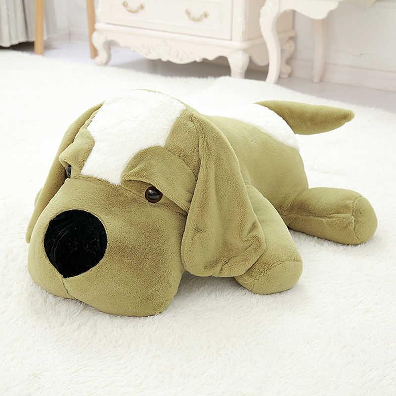 חמוד גדול אוזן בפלאש צעצוע כלב קטיפה בפוחלצי כרית קטיפה כרית כלב ספת כרית קטיפה מתנת יום הולדת ילדה צעצועים כלב בובה