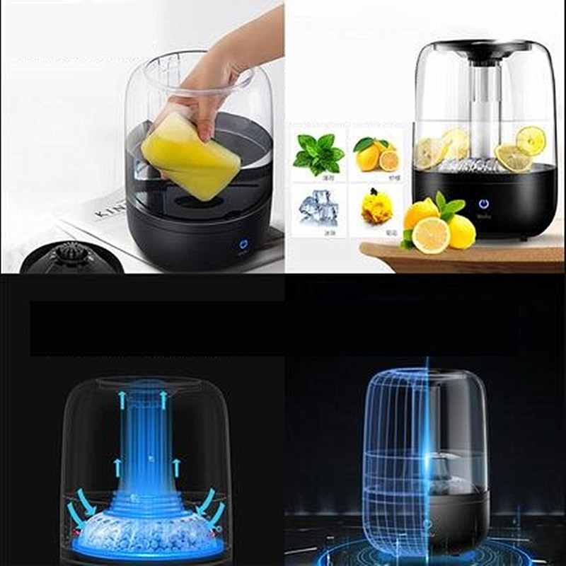 цена на 220V Electric Household Humidifier Top Add Water Aromatherapy Air Humidifier Mist Maker Can Put Into Fruit Or Flower Tea