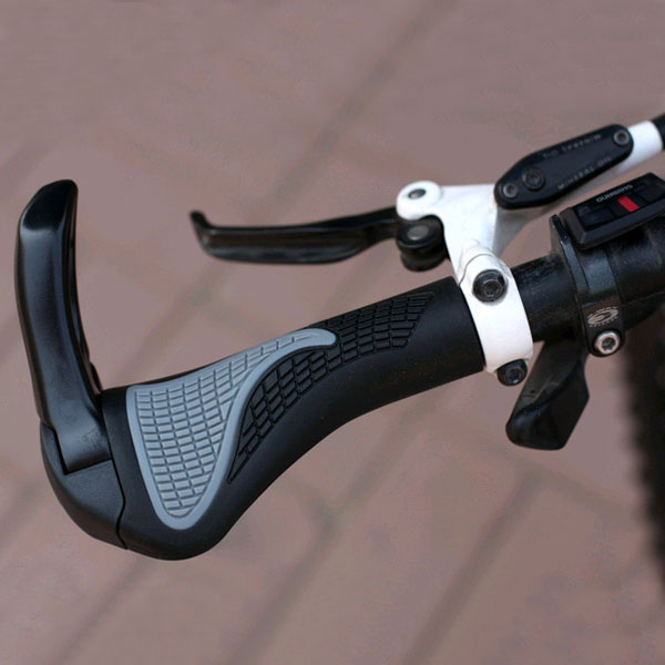 1 Pair Double Lock On Locking Mountain Bike Bicycle Handle Bar Grips Handlebar