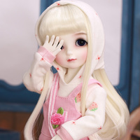 Be With You Strawberry BJD SD Doll 1/6 Resin Girl Body Toys for Girl Gift