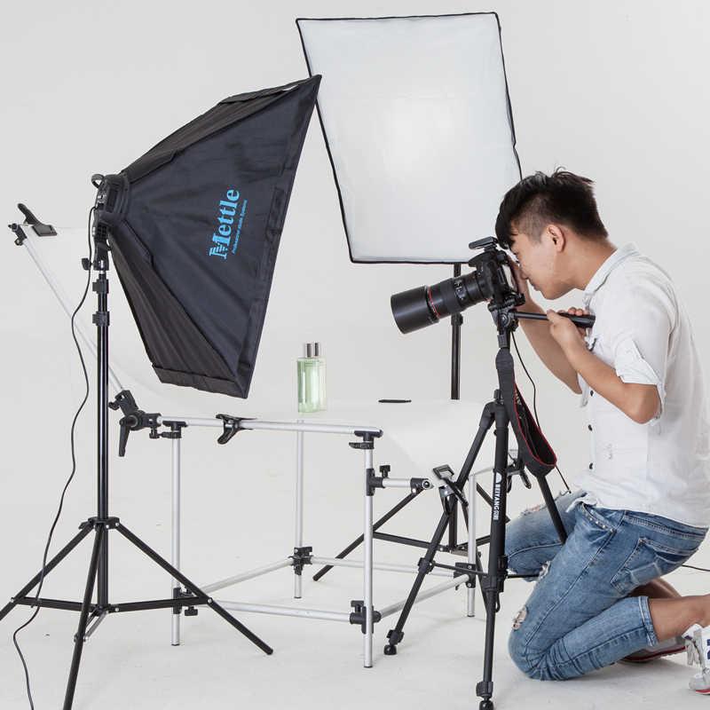 4ソケットランプ写真撮影照明キット写真スタジオ写真撮影機器キットソフトボックスビデオカメラアンカーライトcd50