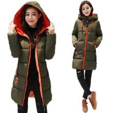 2018 New Winter Jacket Female Parka Coat Feminina Long Down
