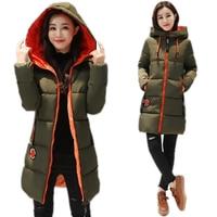 2019 новая зимняя куртка женская парка пальто длинный пуховик Студенческая куртка плюс размер длинная Мода с капюшоном утка вниз пальто курт...