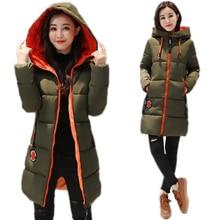 2019 New Winter Jacket Women Parka Coat Long Down Student Ja