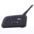 V4 Interphone 4 pepole hablar al mismo tiempo Intercom Headset Bluetooth del gancho del oído auricular para árbitro de fútbol juez de la bicicleta