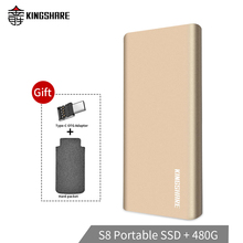 Portable SSD USB 3.0 120GB 240GB 480GB 960GB External Solid State Drive HDD externo ssd drives Type-c To USB 3.0 for laptops S8