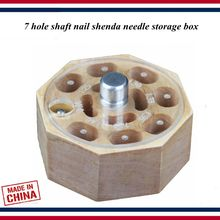 Piano tuning tools accessories - Center pin box,7 hole storage case parts