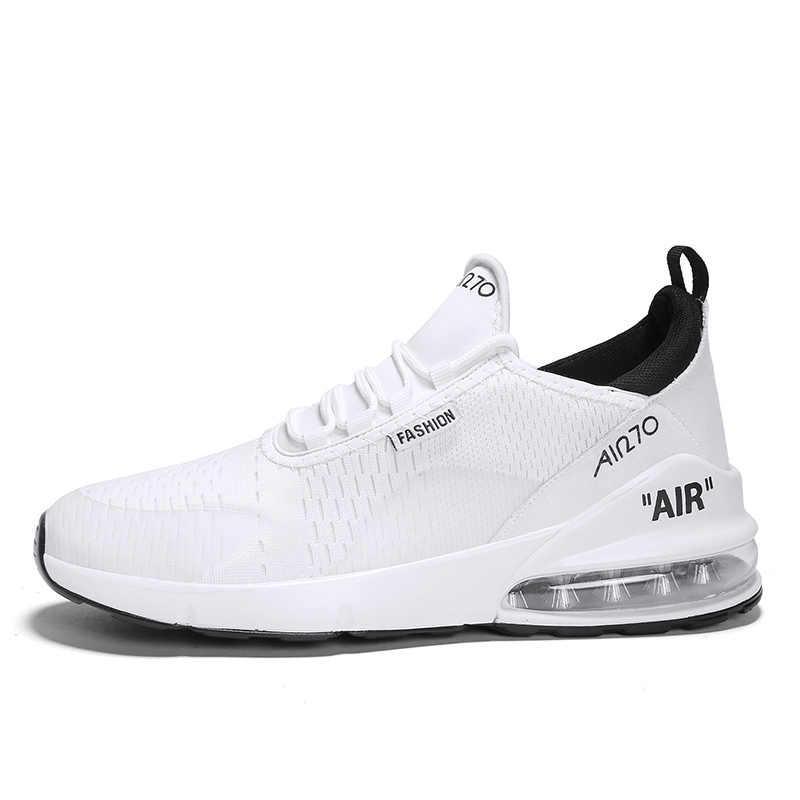 מקורי חדש חם 2019 אוויר 270 Mens נעלי ריצה נעלי ספורט חיצוני נוח לנשימה באיכות נשים מקסימום 47