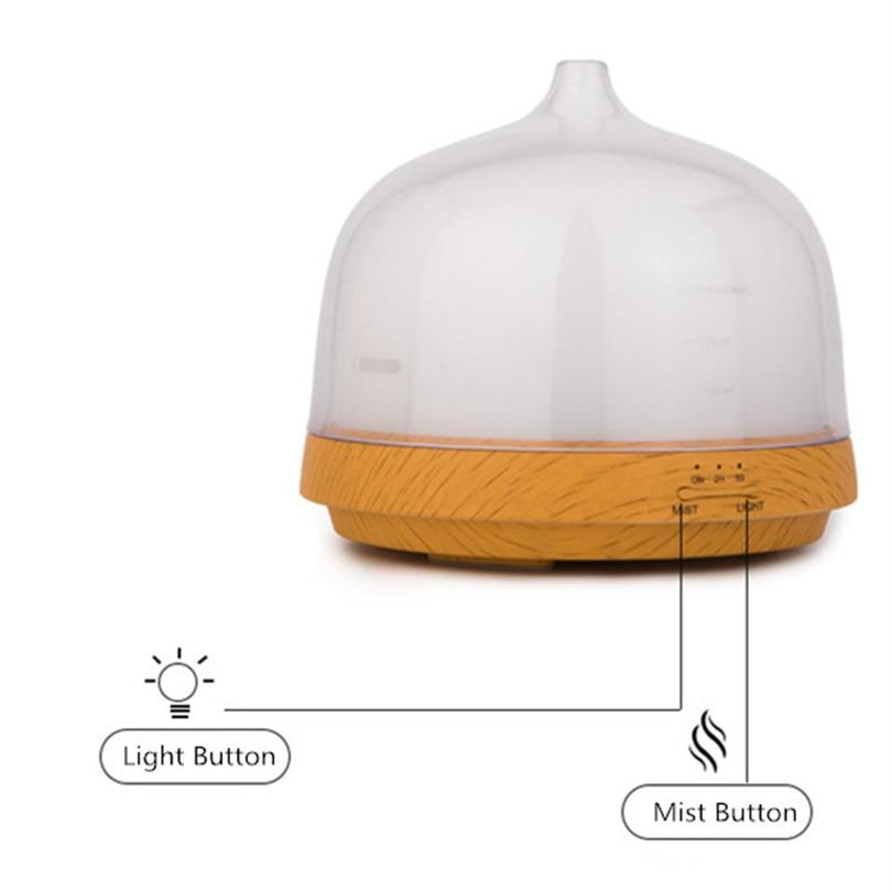 Aroma Diffuser Humidifier LED Colorful 24V 200ml Time Funksion Mog - Կենցաղային տեխնիկա - Լուսանկար 4