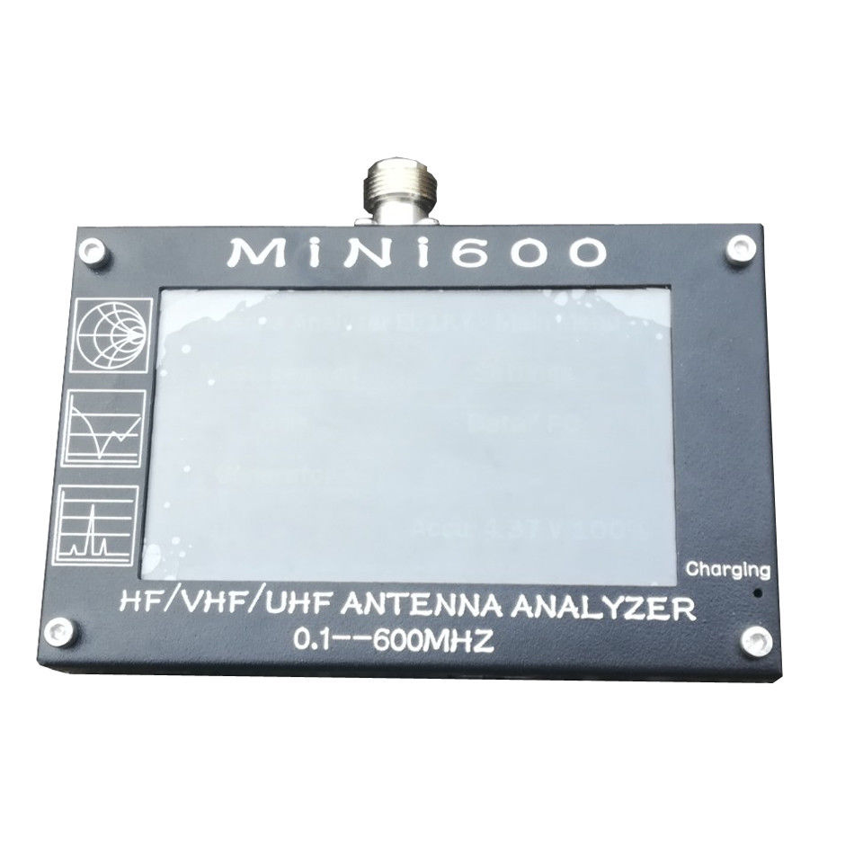 US $184 49 10% OFF|New arrival Mini600 5V/1 5A HF VHF UHF Antenna Analyzer  0 1 600MHz SWR Meter 1 0 1999 For-in Amplifier from Consumer Electronics on