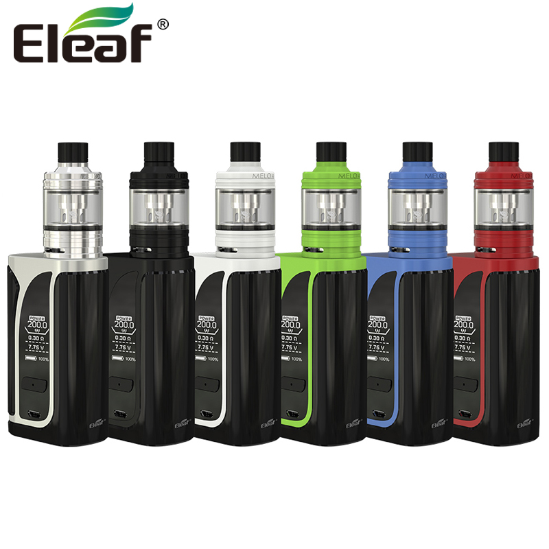 Original Eleaf iKuu i200 with MELO 4 D22 Tank 2ML 4.5ML 4600mAh 