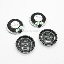 Haut-parleur à coque métallique | 10 pièces, 1W 8 Ohm 8R D23xH6mm, coque ronde en métal, mini haut-parleur klaxon pour DVD