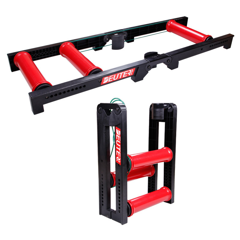 MTB Road Bike Roller Trainer Tool Indoor Bicycle Folding Training Station Road Bicycle Exercise Fitness Station west biking antiskid training station mtb road bike exercise bicycles fitness station bike cycling bicycle training rollers