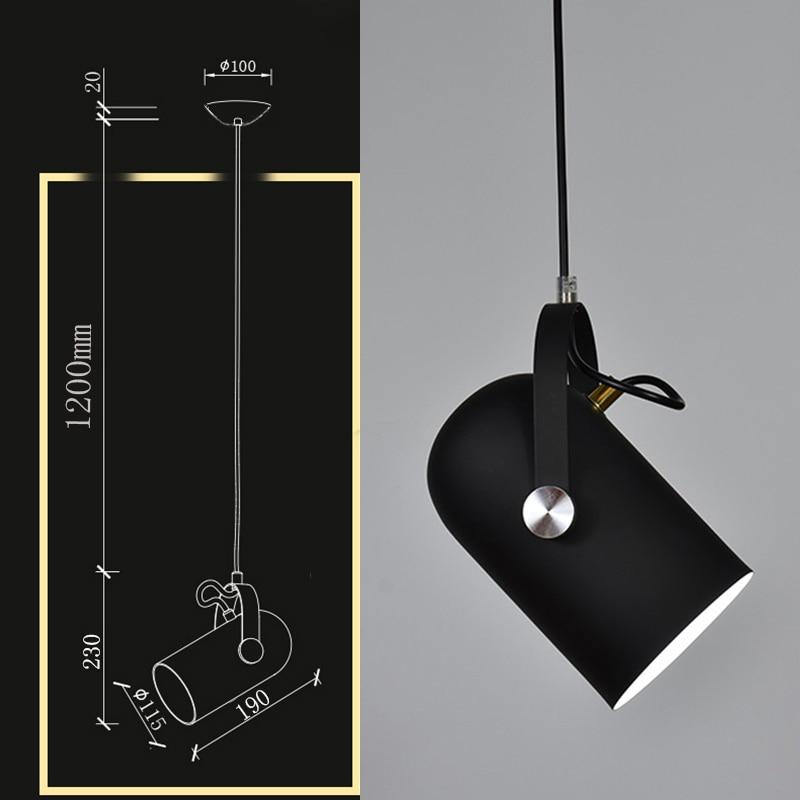 Nordic Minimalism Pendant Light