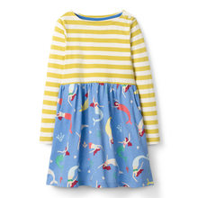 baby girls clothes print dresses autumn spring children clothing girls long sleeve fashion cotton princess dresses for kids girl недорго, оригинальная цена
