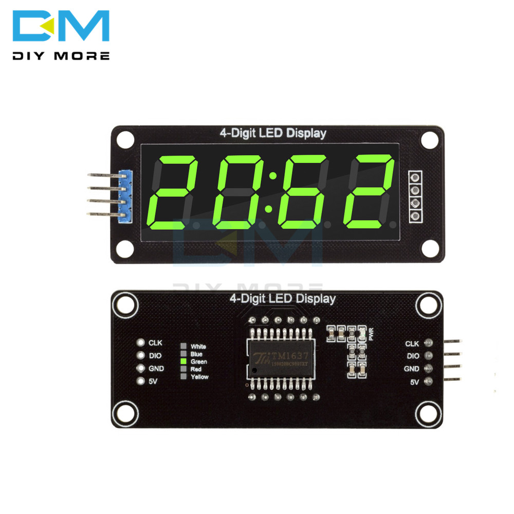 TM1637 4-Digit LED 0.56
