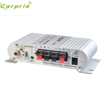 New Arrival Mini Hi Fi Audio Stereo Amplifier 12V 20W X2 RMS Amp For Home Car