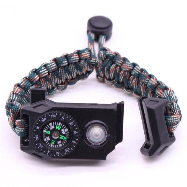 Купить плетеный браслет мужской светодиодный светильник многофункциональный