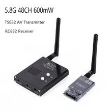 5.8 グラム 48CH TS832 AV トランスミッター & RC832 受信機ワイヤレスオーディオ/ビデオ画像伝送システム fpv ドローン quapcopter