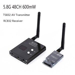 Image 1 - 5.8G 48CH TS832 AV Verici ve RC832 Alıcı Kablosuz Ses/Video Görüntü Iletim Alıcı Sistemi FPV Drone quapcopter
