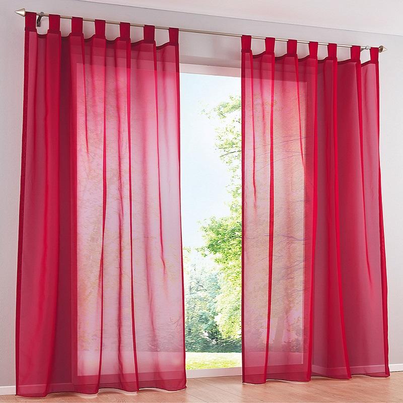 European Roman Curtain high quality solid Window Curtains Sheer ...