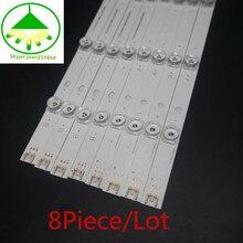 100% NOVOS pcs Tira Retroiluminação LED para LG 47LB570V 8 47LB552U 47LB580V 47LB585V 47LB550B