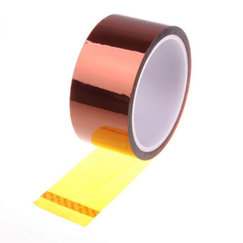 50MM X 33M(100ft) Polyimide Gold BGA Tape Heat Tape Thermal Insulation Tape High Temperature Resistant Tape Tape