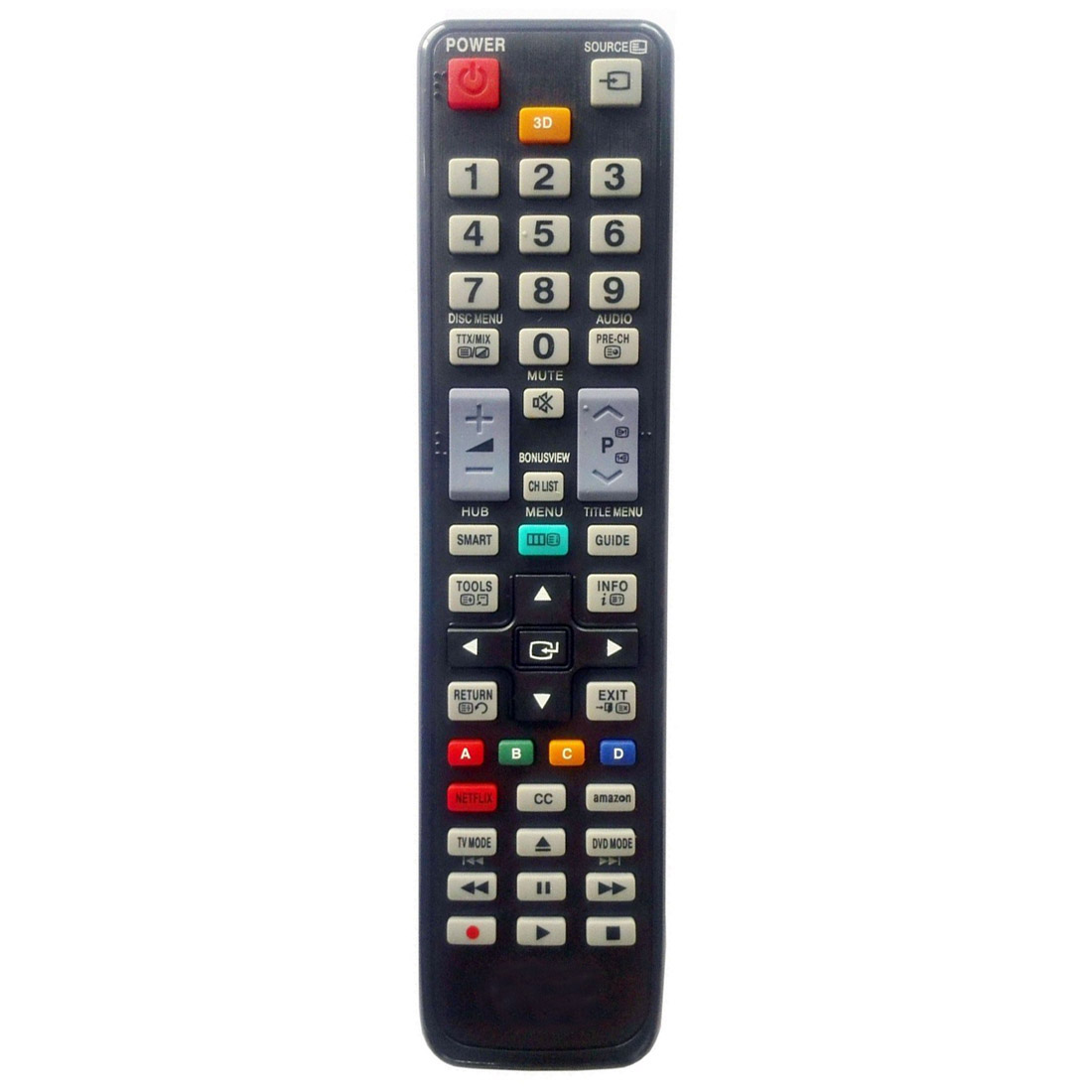 New for Samsung DVD Blu-Ray Player Universal Remote by USARMT For AK59-00104R original smart intelligent remote control ak59 00172a universal for dvd blu ray player bd f5700 for samsung