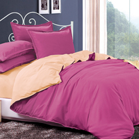 LILIYA Simple And Elegant Bedding Set 4 6 Pieces High Quality Duvet Cover Sheet Elastic Pillowcase