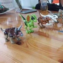 8 шт из фильма «Парк Юрского периода»; Парк пластиковых динозавров