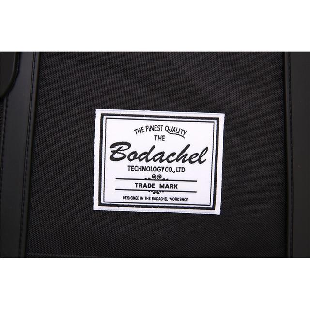 Bodachel Travel Backpack for Men 15.6'' Notebook Laptop Backpack Male Large Capacity Drawstring Knapsack Tourist sac a dos homme 5