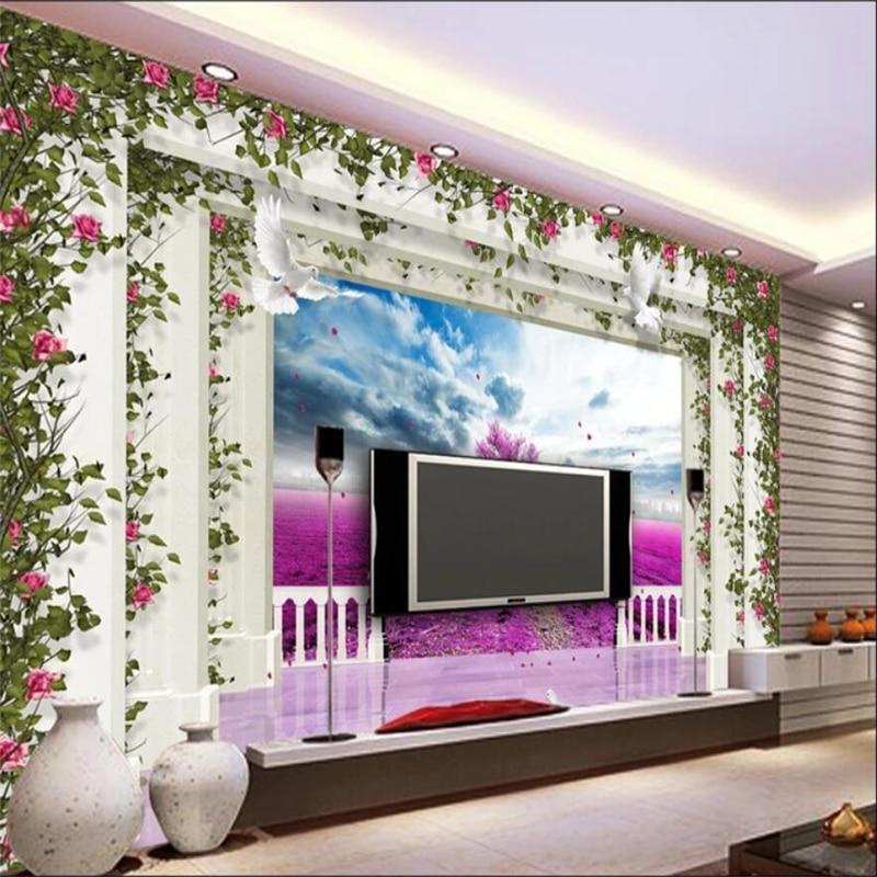 Beibehang Custom Wallpaper Home Decor Living Room Bedroom: Beibehang Wallpaper Mural Custom Living Room Bedroom 3D