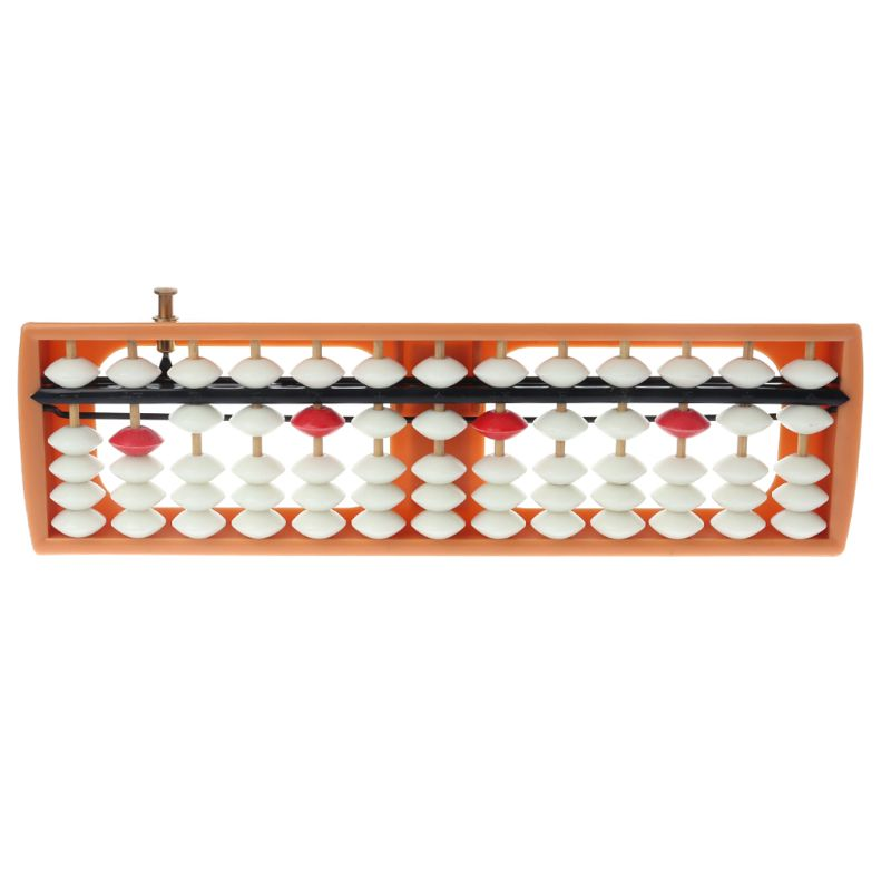 Portable 13 Column Abacus Arithmetic Soroban Number Counting Math Learning Early Educational Toy Baby Toy Christmas Gift