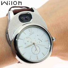 цена на hot Quartz Watch Men Casual Windproof USB Charging Flameless Cigarette Lighter Arc Lighter watches Wristwatches clock JH338