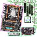 En venta HUANAN ZHI X79 placa base Paquete de tarjeta de vídeo GTX750TI 2G 128G SSD NVME 2280 CPU Intel Xeon e5 2660 V2 RAM 4*8G 1600 RECC