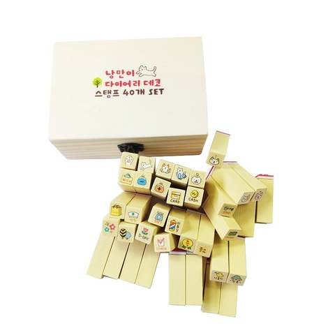 wooden stamps for kids