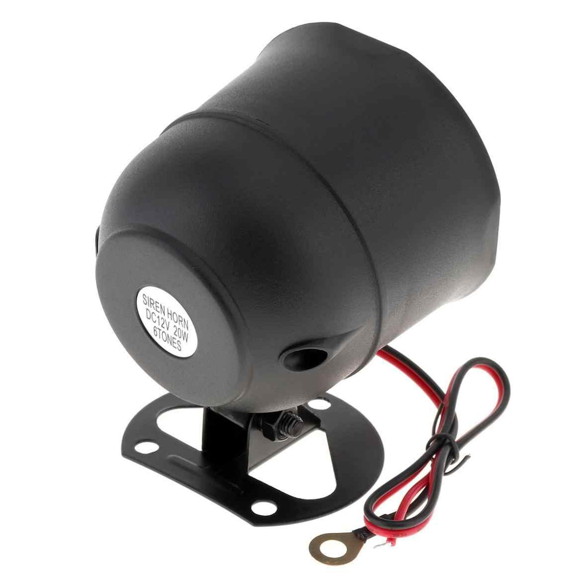 Universal12V Auto Alarm samochodowy System dostępu bezkluczykowy wsparcie centralny system zamykania drzwi z czujnikiem syreny zdalnego sterowania