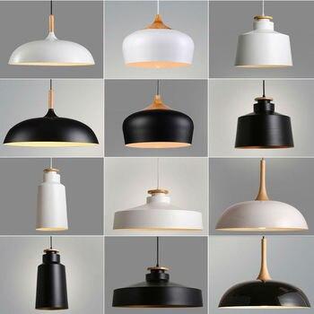 Nórdica colgante luces lámpara iluminación Industrial ...