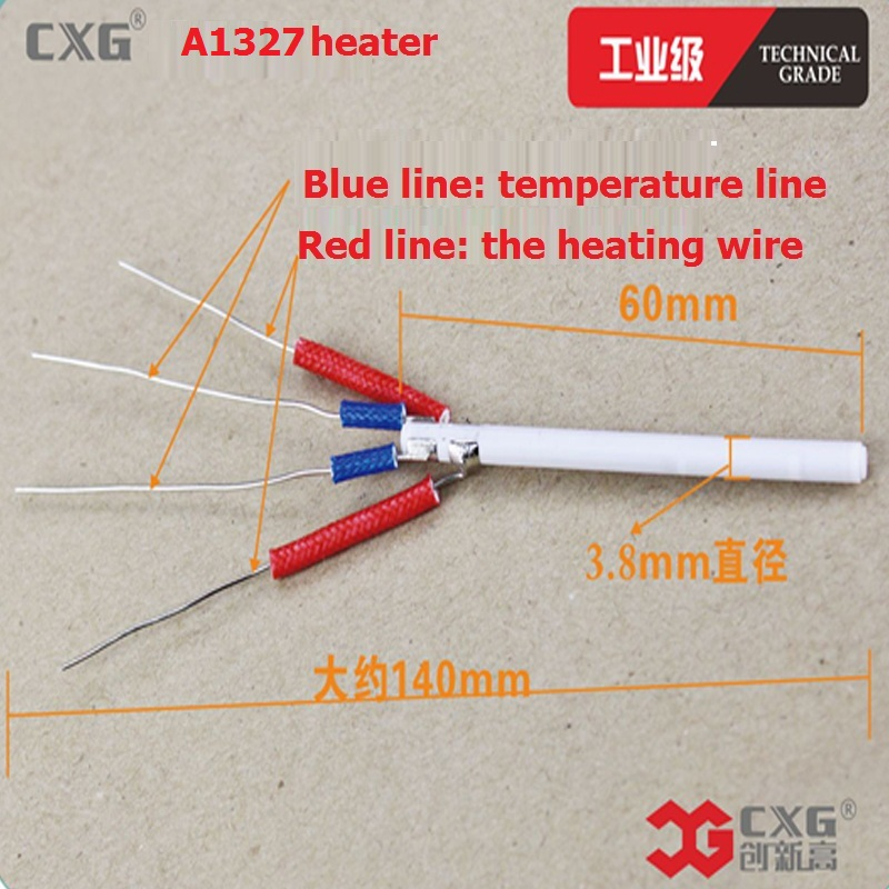 CXG A1327 220V 70W Ceramic Heater Heating Element For CXG-DT70 CXG-DT70S Soldering Iron Heating Replacement