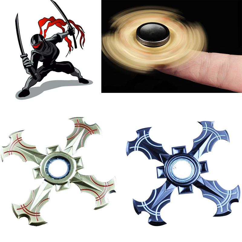 Ninja Shuriken Dart Fidget Spinner Hand Spinner Desk Focus ADHD Autism Fidget Toys For Kids/Adult