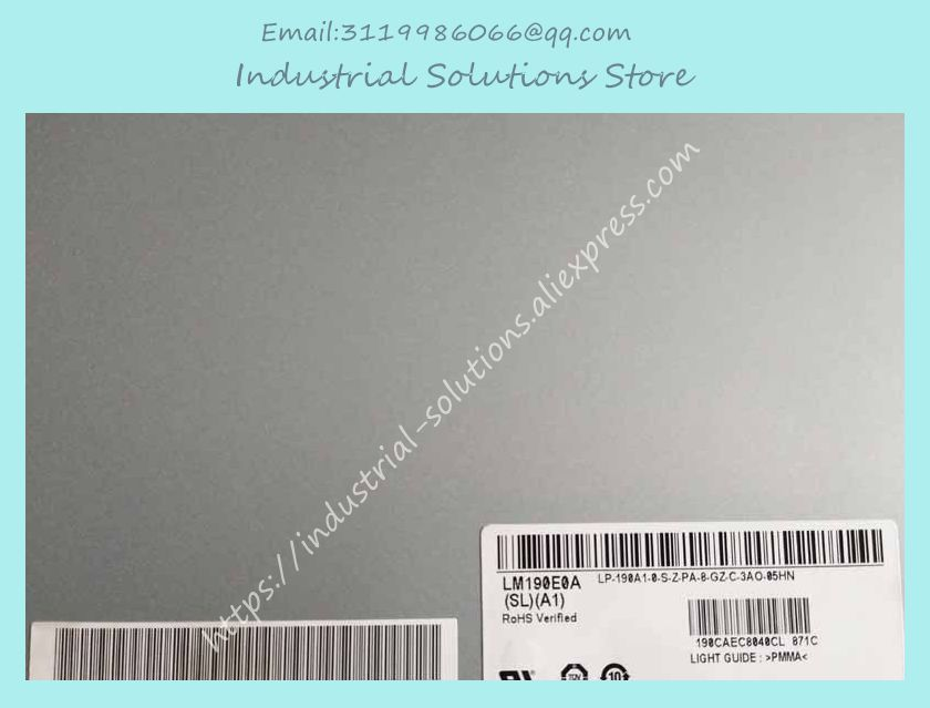 LM190E0A SLA1 LM190E0A SL A1 LM190E09 TLK1 LM190E09 TLD1 new 19 inch display lcd screen for