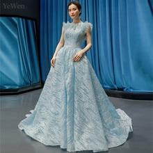 YEWEN Luxury Sexy Evening Dress Formal Women Elegant