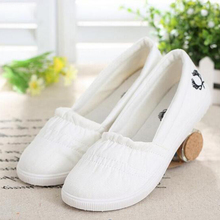 2016 new ultra-comfortable casual canvas shoes flat shoes women shoes w342